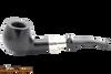 Peterson Ebony Spigot 408 Tobacco Pipe Fishtail