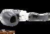 Peterson Ebony Spigot 221 Tobacco Pipe Fishtail Top