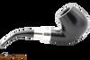 Peterson Ebony Spigot 68 Tobacco Pipe Fishtail Right Side