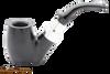 Peterson Ebony Spigot 306 Tobacco Pipe Fishtail