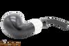 Peterson Ebony Spigot XL02 Tobacco Pipe Fishtail Bottom