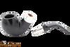 Peterson Ebony Spigot XL02 Tobacco Pipe Fishtail Apart