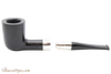 Peterson Ebony Spigot 120 Tobacco Pipe Fishtail Apart