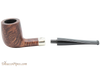 Peterson Aran 265 Smooth Nickel Mounted Tobacco Pipe Fishtail Apart