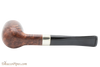 Peterson Aran 265 Smooth Nickel Mounted Tobacco Pipe Fishtail Bottom
