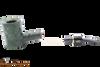 Savinelli Alligator 311 KS Green Tobacco Pipe Apart