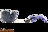 Savinelli Alligator 614 Blue Tobacco Pipe Apart