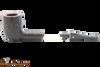 Savinelli Roma 111 EX Black Stem Tobacco Pipe Apart