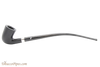 Peterson Churchwarden Ebony D16 Silver Mounted Pipe Fishtail