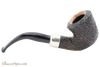 Peterson Arklow Sandblast B10 Tobacco Pipe Fishtail Right Side