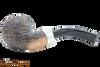 Peterson Arklow Sandblast XL02 Tobacco Pipe Fishtail Bottom