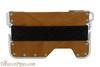 Beyler The New-Fashioned RFID Blocking Slim Metal Wallet Brown