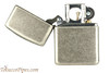 Zippo Classic Armor Antique Silver Plated Pipe Lighter