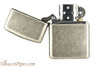 Zippo Classic Armor Antique Silver Plated Cigar Lighter