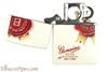 Zippo Spirits Jim Beam Rosette White Matte Pipe Lighter