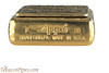 Zippo Spirits Jack Daniels Emblem Brass Lighter Bottom