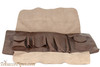Cobblestone Leather Belt Pipe Pouch Open