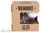 BenShot Golf Ball Wine Glass 15 oz Box
