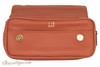Dunhill White Spot Terracotta Flap Companion Pouch PA2021 Front