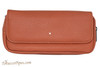 Dunhill White Spot Terracotta Flap Companion Pouch PA2021