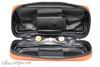 Dunhill White Spot Terracotta Pipe Companion Pouch PA2022 Open