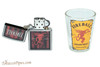 Zippo Fireball Shot Glass and Lighter Gift Set