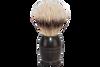 Dovo 918285 Ebony Wood Silvertip Badger Shave Brush