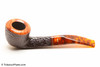 Savinelli Tortuga Rustic 305 Tobacco Pipe Left Side