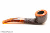 Savinelli Tortuga Rustic 305 Tobacco Pipe Right Side