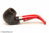 Peterson Dracula 221 Sandblast Fishtail Tobacco Pipe Left Side
