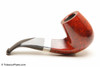 Peterson Sherlock Holmes Milverton Smooth Tobacco Pipe PLIP Right Side