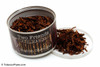 Two Friends English Chocolate 2oz Pipe Tobacco Open