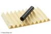 Savinelli Bianca 320 Tobacco Pipe - Rusticated Filters