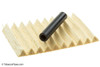 Savinelli Bianca 626 Tobacco Pipe - Rusticated Filters