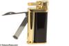 Kiribi Tomo Gold & Black Pipe Lighter Open