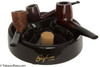 Brigham Three Pipe Round Pipe Ashtray (Pipes not Included)