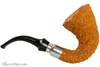 Brebbia First Calabash Tan Rustic Tobacco Pipe Right Side