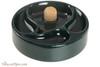 Savinelli Ceramic 3 Pipe Ashtray with Knocker - Green