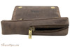 Rattray's Leather 1 Pipe Combo Pouch - Brown Bottom