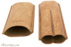 Brigham 2F Toro Cigar Case - Brown Open