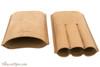 Brigham 3F Toro Cigar Case - Brown Open