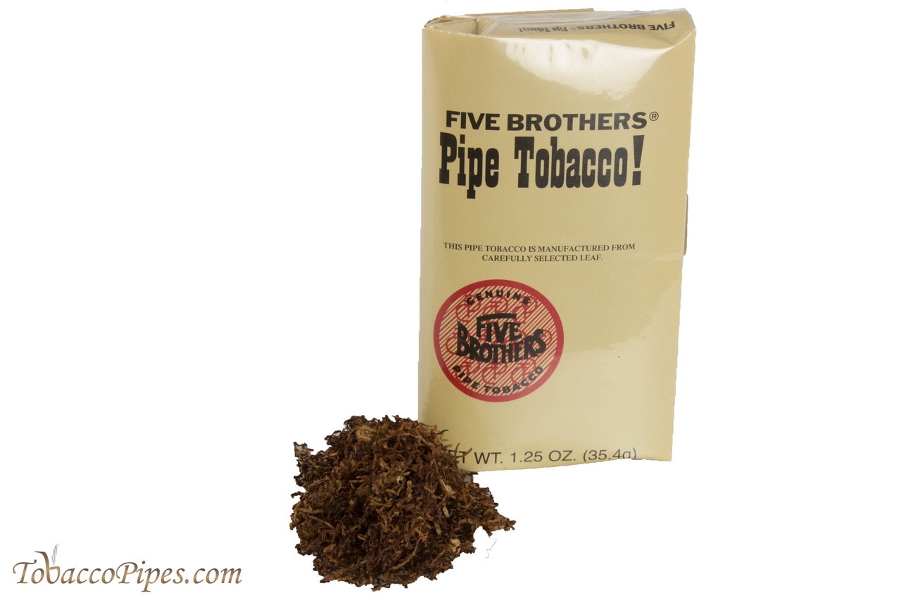 Five Brothers Pipe Tobacco Pouch 1 25 Oz