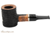 OMS Pipes Poker Tobacco Pipe - Silver Band