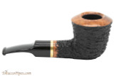 OMS Pipes Dublin Tobacco Pipe - Brass Band Right Side