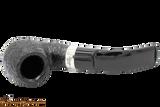 Peterson Cara 221 Sandblast Tobacco Pipe - Fishtail Top