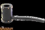 Tsuge Metal Tankard Yoroi Black Tobacco Pipe