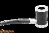 Tsuge Metal Tankard Briar Sandblast Tobacco Pipe Right Side