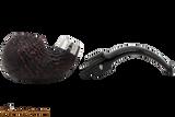 Peterson Sherlock Holmes Lestrade Sandblast Tobacco Pipe PLIP Apart