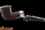 Peterson Sherlock Holmes Mycroft Sandblast Tobacco Pipe PLIP Apart