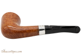Peterson Sherlock Holmes Mycroft Natural Smooth Tobacco Pipe PLIP Bottom